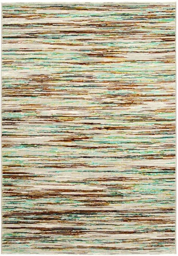 Béžový kusový moderní koberec Patina
