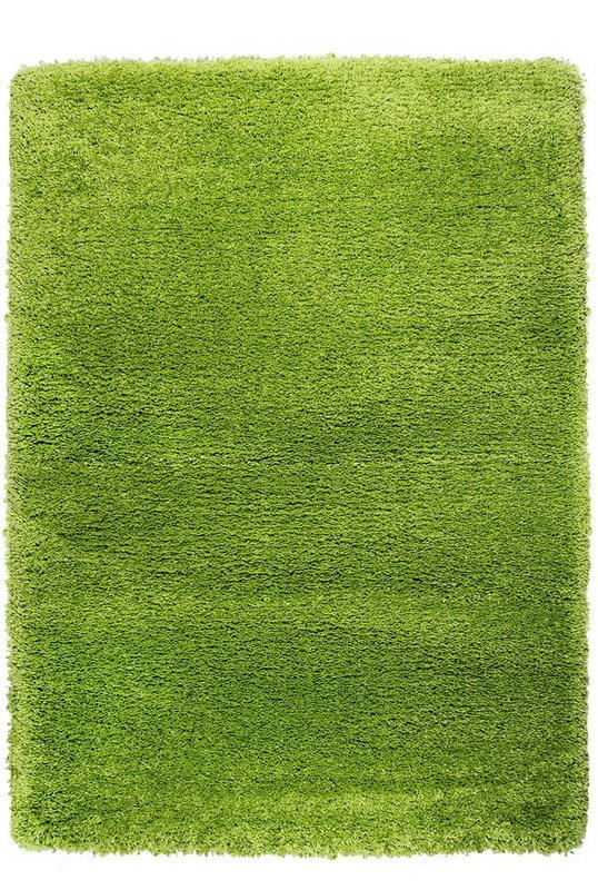 Zelený kusový koberec Fusion