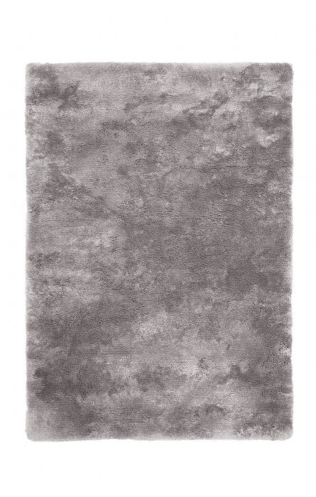 Šedý kusový koberec Curacao - délka 110 cm a šířka 60 cm