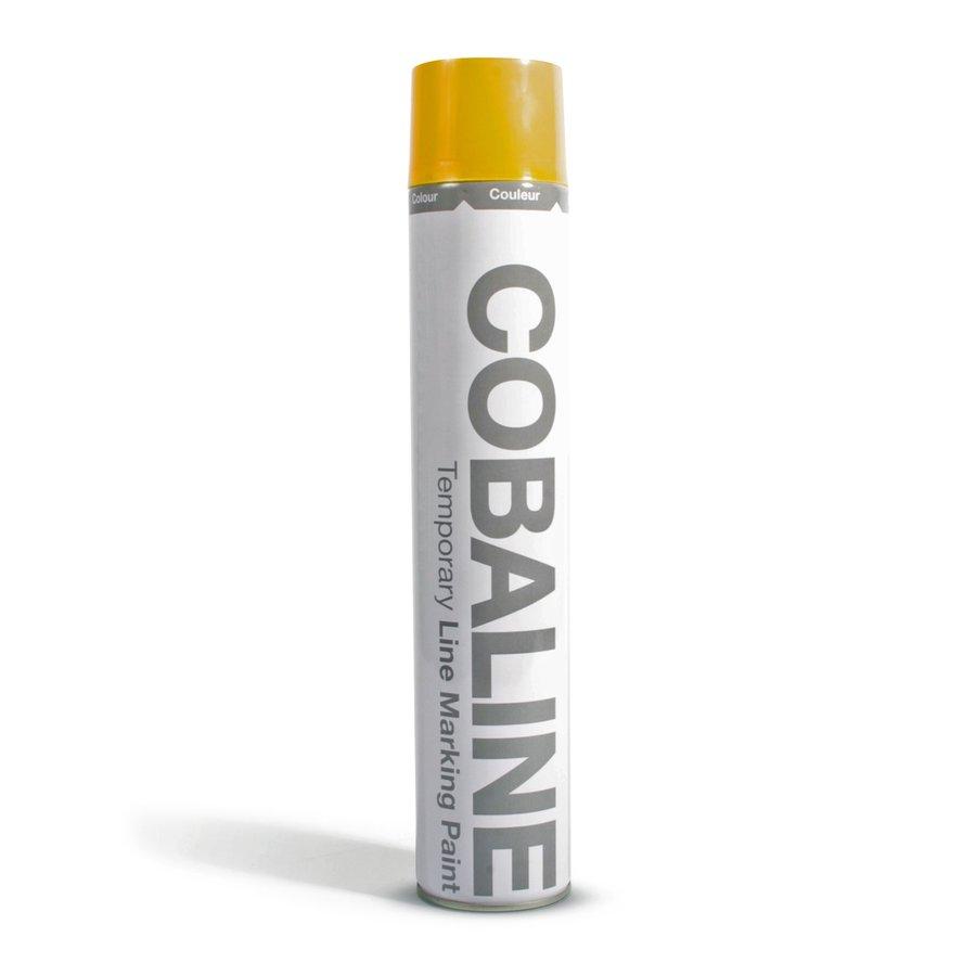 Žlutá krátkodobá rychleschnoucí aerosolová barva - 750 ml (80000268)