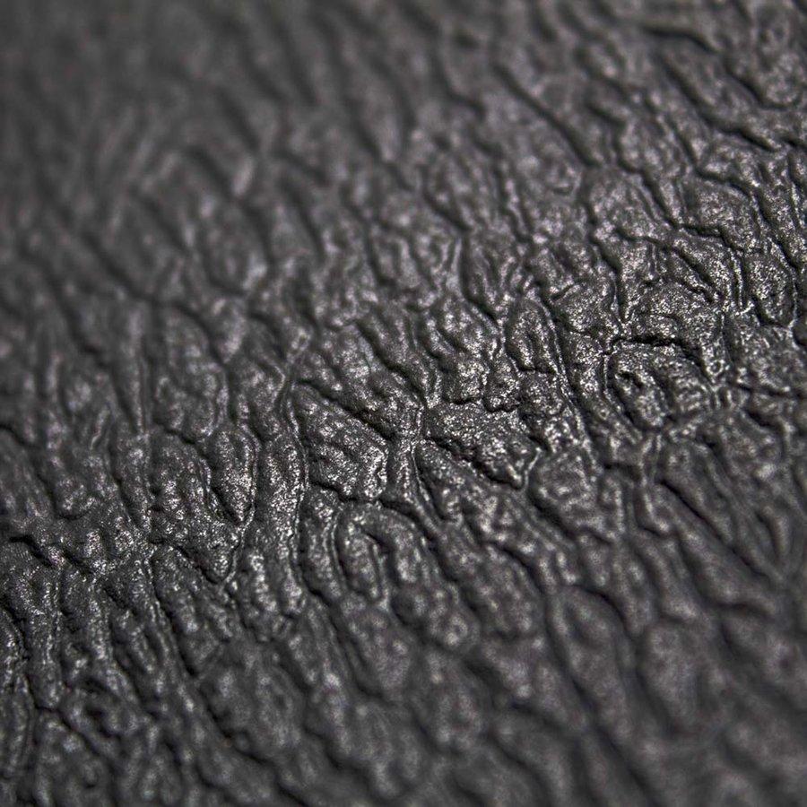 Šedá protiskluzová protiúnavová průmyslová pěnová rohož - délka 150 cm, šířka 90 cm a výška 0,9 cm
