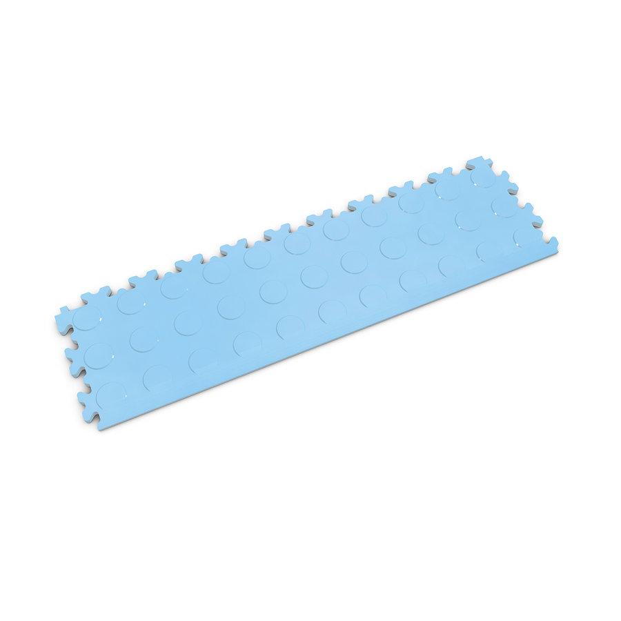 Modrý plastový vinylový nájezd 2045 (penízky), Fortelock - délka 51 cm, šířka 14 cm a výška 0,7 cm