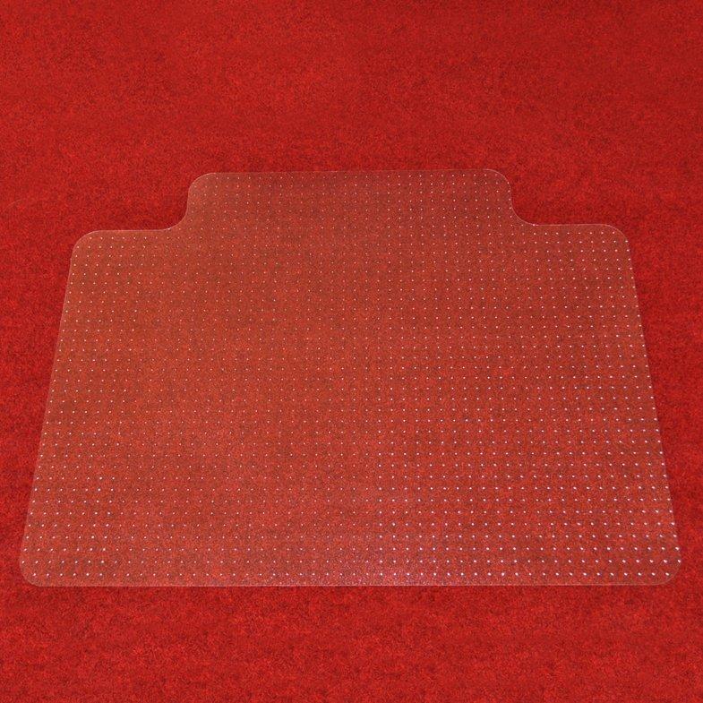 Čirá podložka na koberec pod židli - délka 134 cm, šířka 120 cm a výška 0,3 cm
