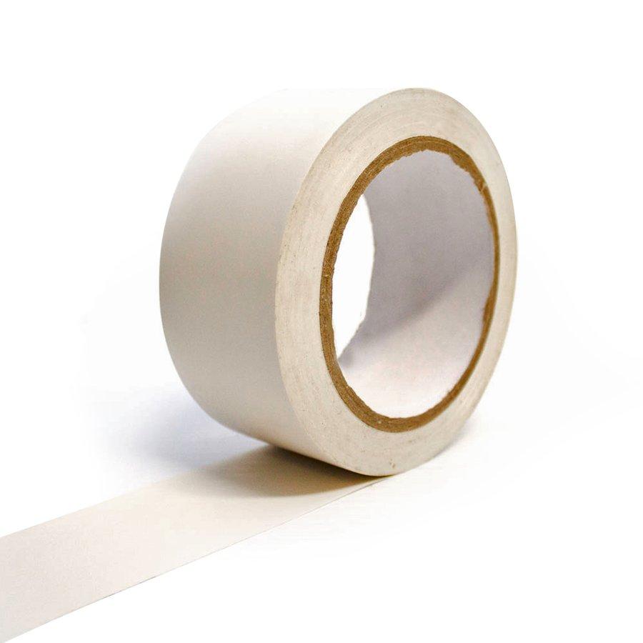 Bílá vyznačovací podlahová páska - 33 m x 5 cm (80000285)