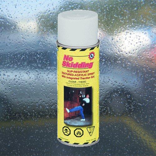 Čirý akrylový protiskluzový průhledný sprej