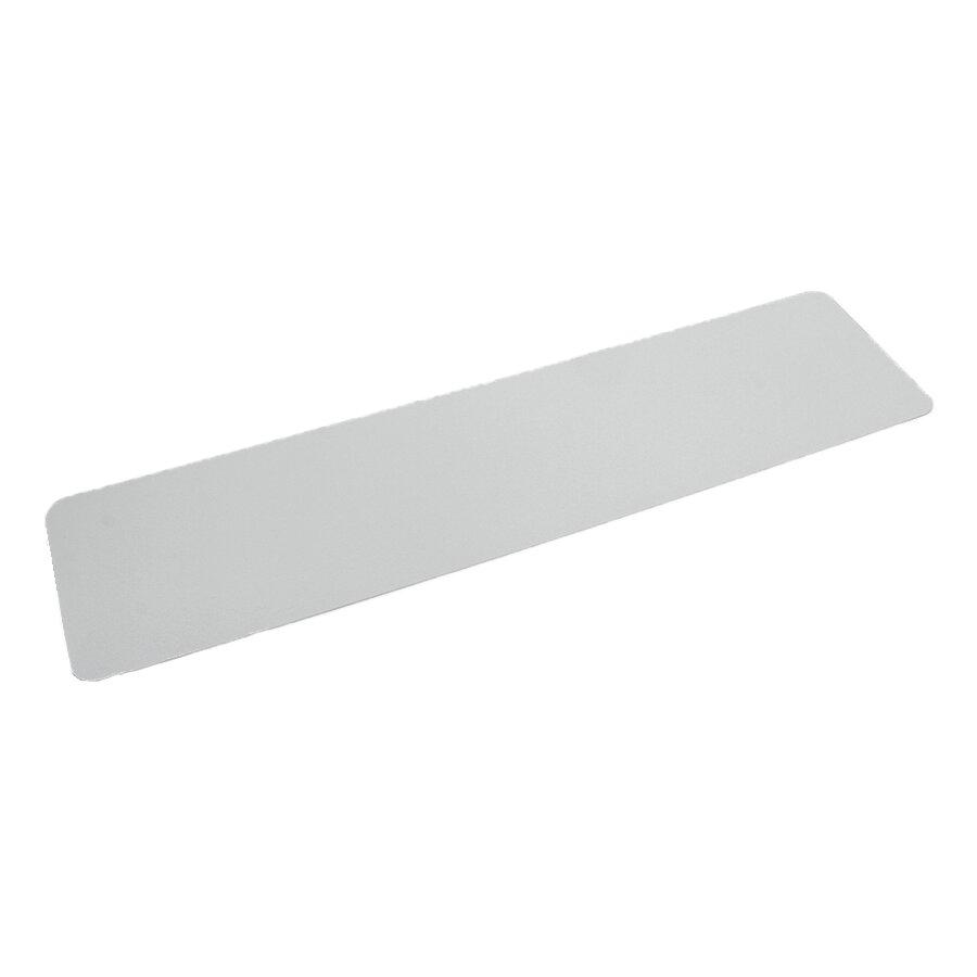 Bílá plastová voděodolná protiskluzová páska (pás) FLOMA Aqua-Safe - 15 x 61 cm tloušťka 0,7 mm
