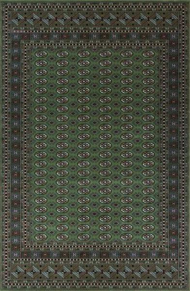 Zelený luxusní kusový koberec Saphir - délka 300 cm a šířka 200 cm