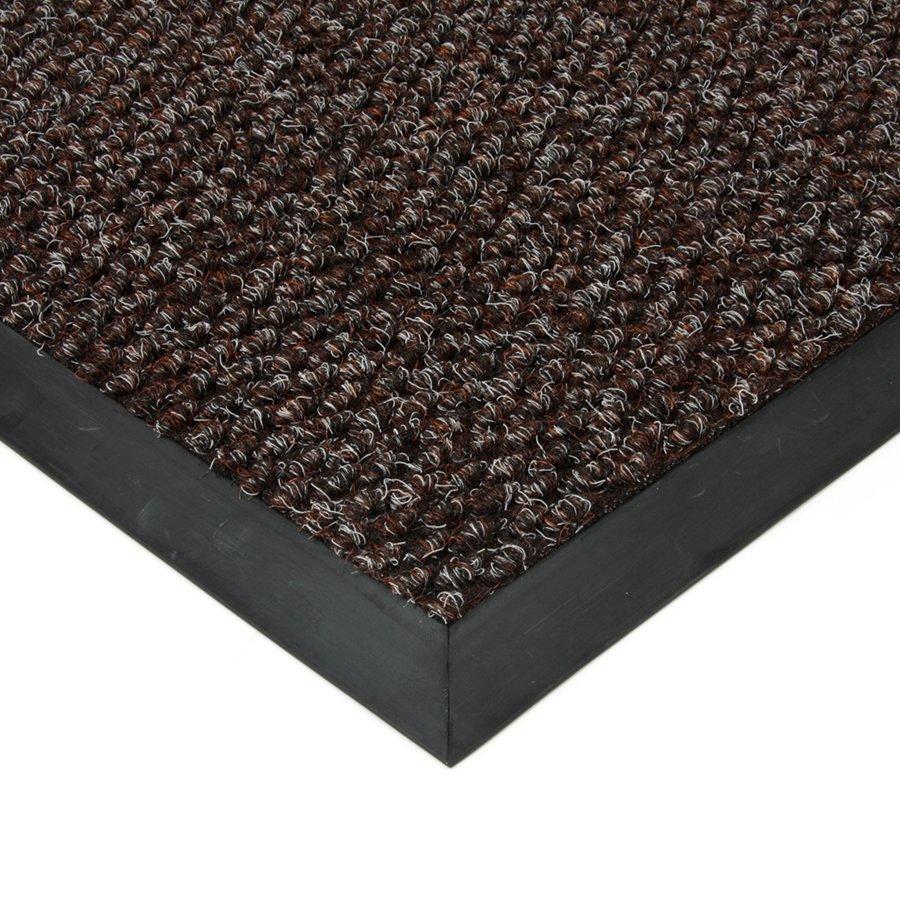 Hnědá textilní zátěžová čistící vnitřní vstupní rohož Fiona, FLOMAT - výška 1,1 cm
