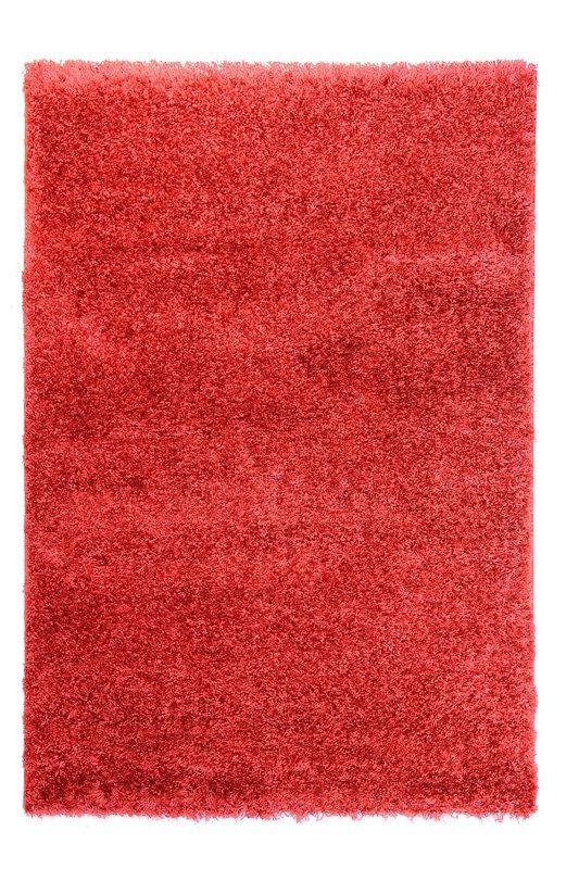 Červený kusový koberec Bursa - délka 230 cm a šířka 160 cm