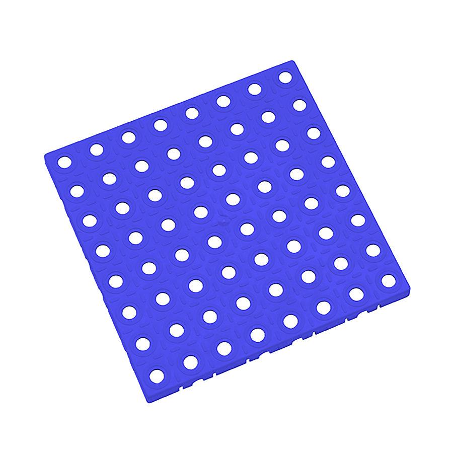 Modrá plastová modulární dlaždice AT-STD, AvaTile - délka 25 cm, šířka 25 cm a výška 1,6 cm
