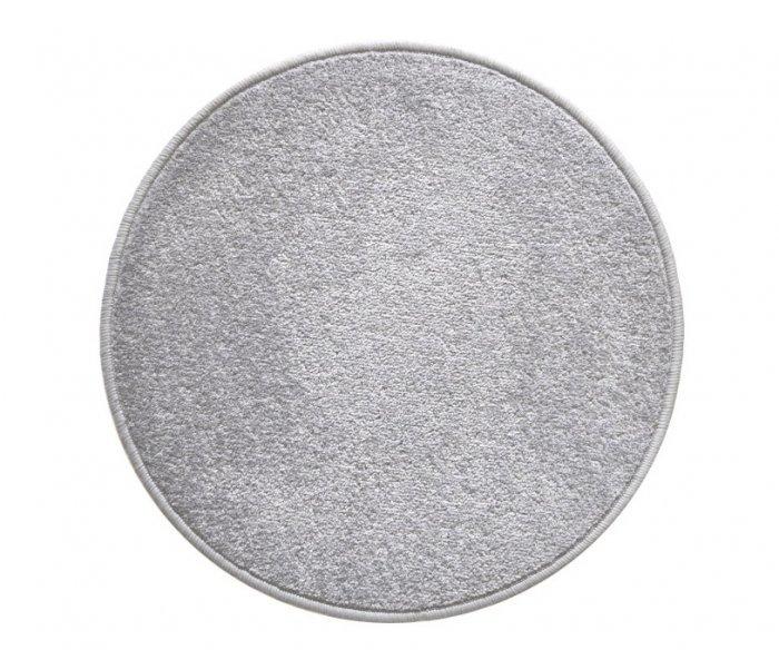 Šedý kusový koberec Eton