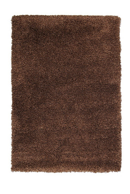 Hnědý kusový koberec Fusion - délka 290 cm a šířka 200 cm