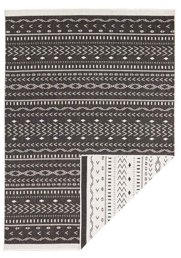 Hnědý oboustranný moderní koberec Kuba, Twin-Supreme - délka 350 cm a šířka 80 cm