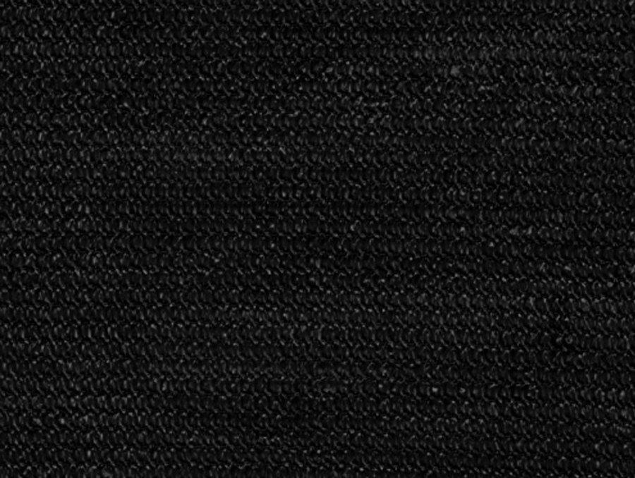 Černá stínící tkanina na plot Samoa - délka 50 m a šířka 1,5 m