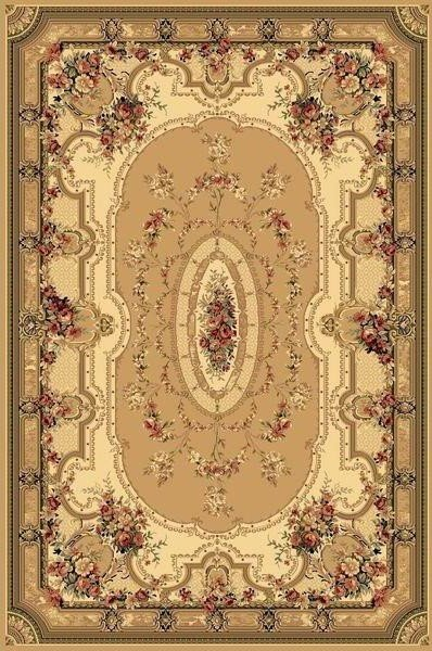 Béžový orientální kusový koberec Super Antique - délka 400 cm a šířka 300 cm