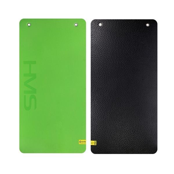 Zelená fitness podložka na cvičení MFK01 - délka 110 cm, šířka 55 cm a výška 1,5 cm