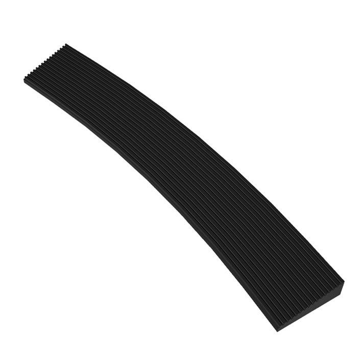 Černá náběhová vnitřní hrana Skywalker HD o-Curve Safety Ramp, Nitrile (81716336)