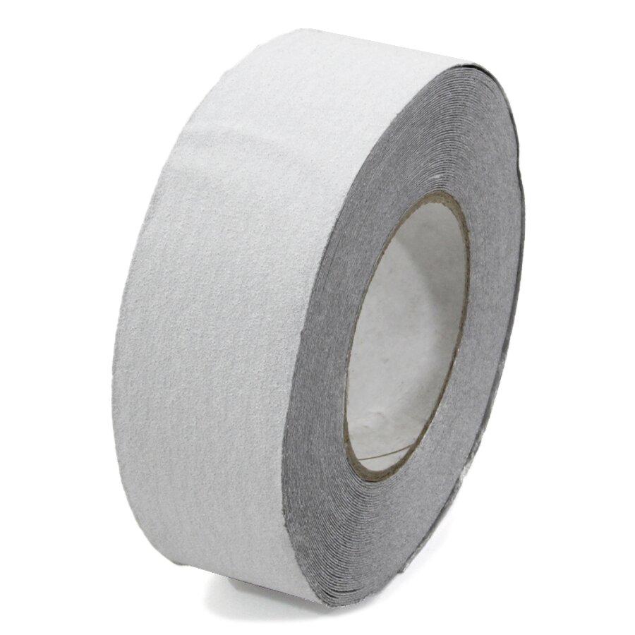 Bílá korundová protiskluzová páska pro nerovné povrchy FLOMA Conformable - 18,3 x 5 cm tloušťka 1,1 mm