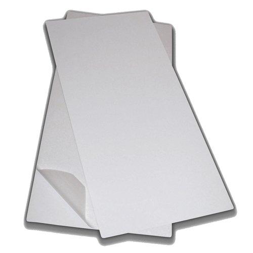 Bílá vinylová protiskluzová samolepící podložka - délka 86,4 cm a šířka 40,6 cm
