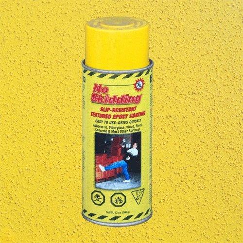 Žlutý epoxidový protiskluzový sprej