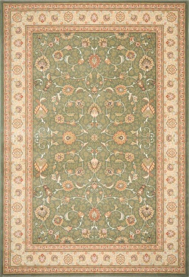 Zelený orientální kusový koberec Nobility - délka 380 cm a šířka 280 cm