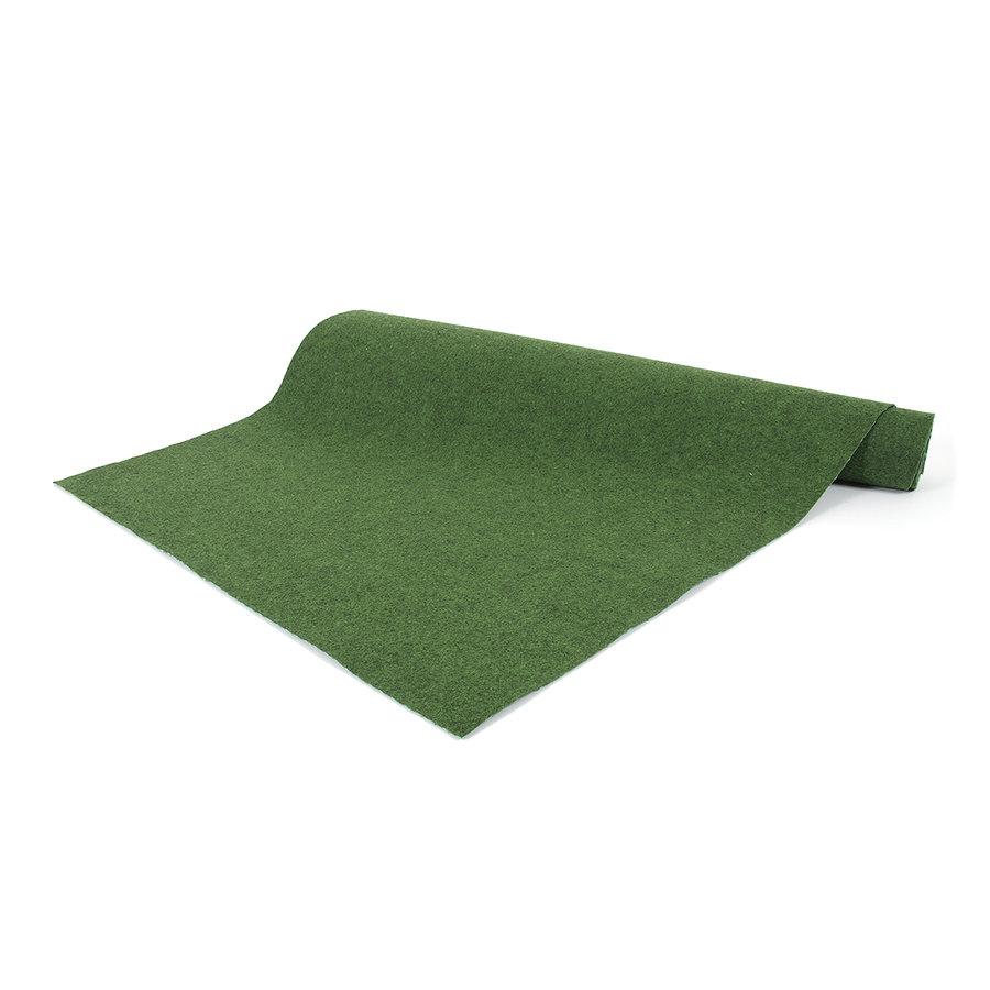 Zelený travní kusový koberec Basic - délka 300 cm, šířka 133 cm a výška 0,4 cm