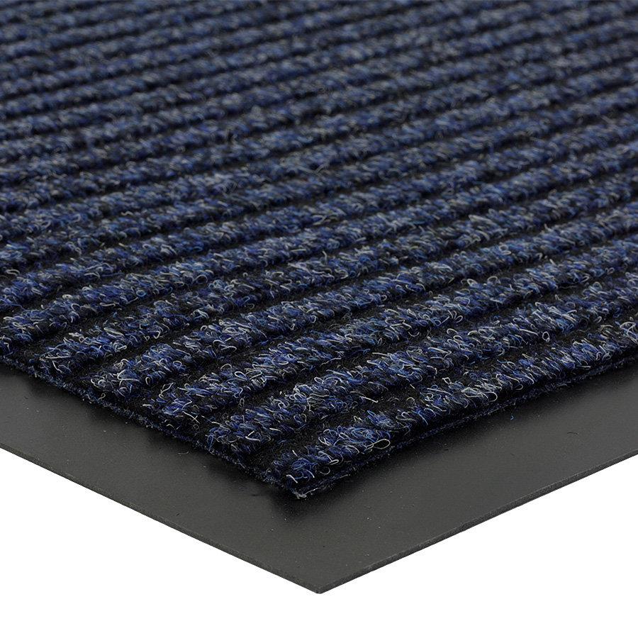 Modrá čistící vnitřní vstupní rohož Everton, FLOMA - výška 0,6 cm