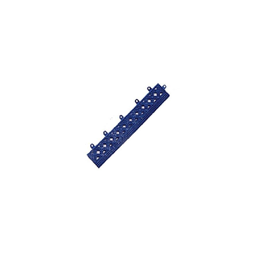 Modrá náběhová hrana pro dlaždice Lok-Tyle - 30,5 cm x 5 cm  x 1,43 cm