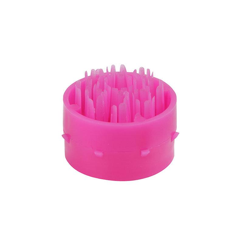 Růžový plastový čistící kartáček pro rohože Octomat, Octomat Elite