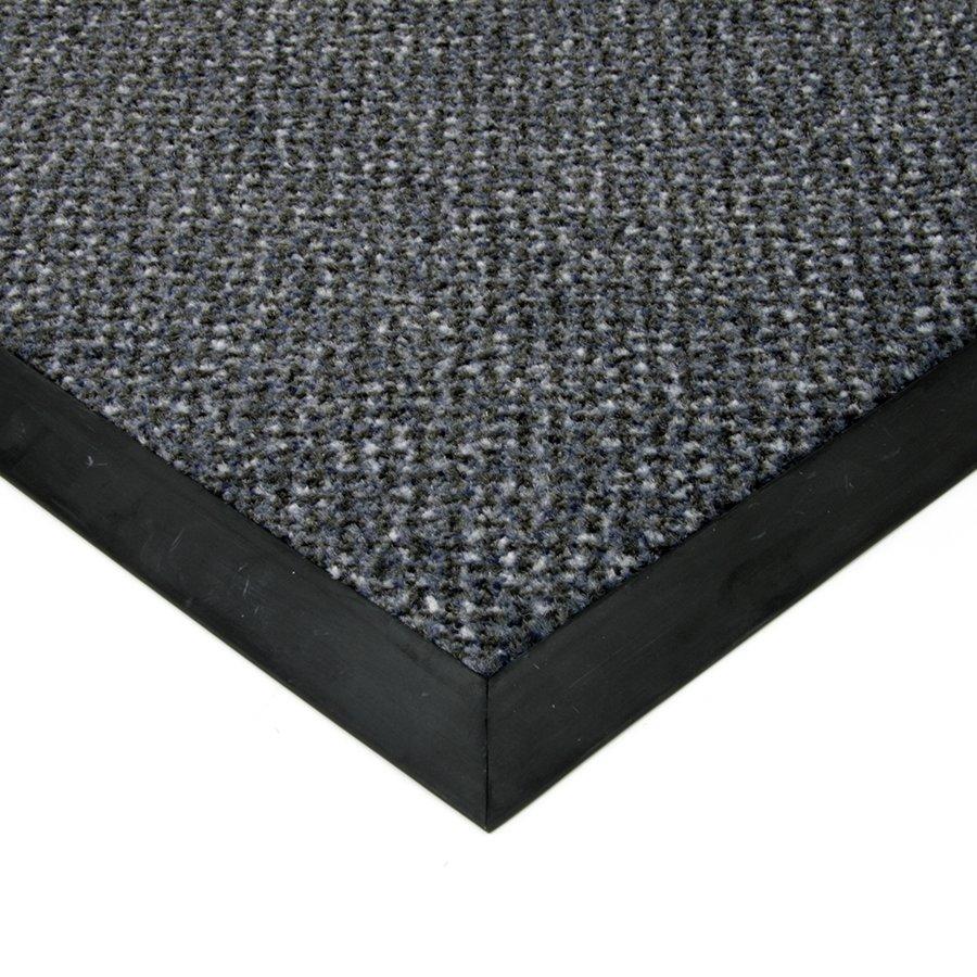 Modrá textilní čistící vnitřní vstupní rohož Cleopatra Extra, FLOMAT - výška 1 cm