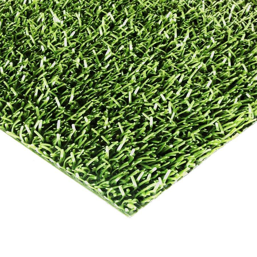 Zelená plastová vstupní univerzální čistící metrážová rohož Astra - šířka 91 cm a výška 1,8 cm