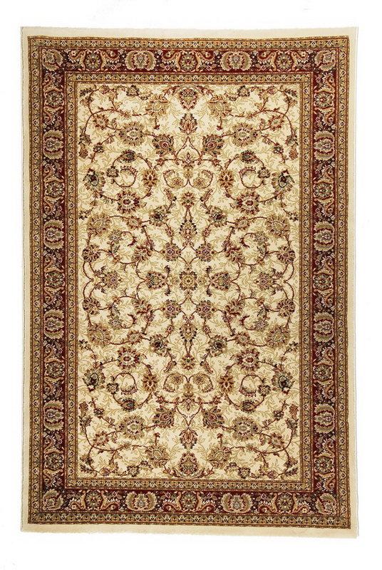 Béžový kusový orientální koberec Tashkent