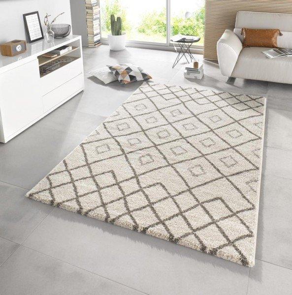 Béžový moderní kusový koberec Eternal - délka 170 cm a šířka 120 cm