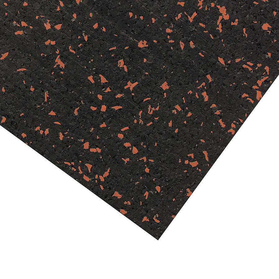 Různobarevná pryžová (10% EPDM PREMIUM) deska SF1100 - délka 198 cm, šířka 98 cm a výška 1,6 cm