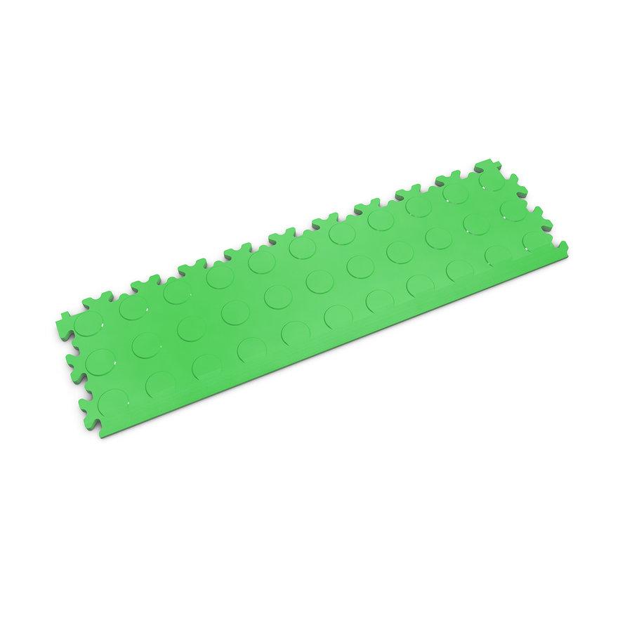 Zelený plastový vinylový nájezd 2045 (penízky), Fortelock - délka 51 cm, šířka 14 cm a výška 0,7 cm