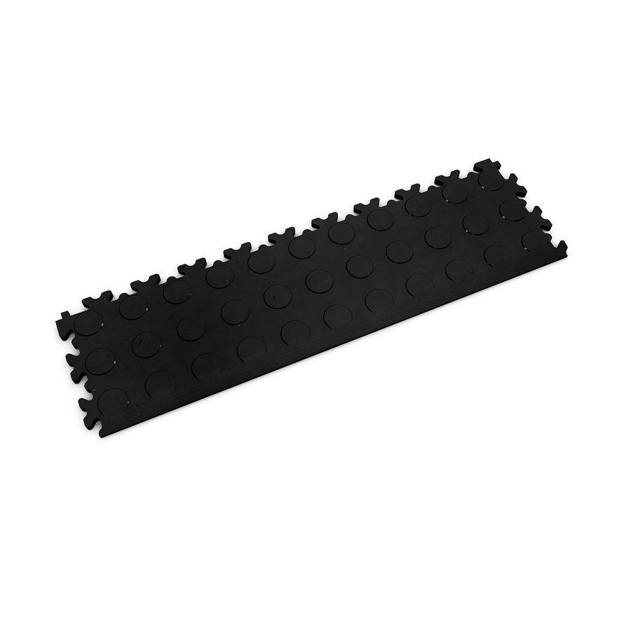 Černý plastový vinylový nájezd Eco 2045 (penízky), Fortelock - délka 51 cm, šířka 14 cm a výška 0,7 cm