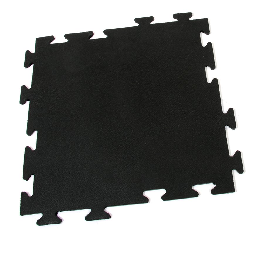 Gumová modulární protiúnavová rohož Flat Tile, FLOMAT - délka 50 cm, šířka 50 cm a výška 0,8 cm