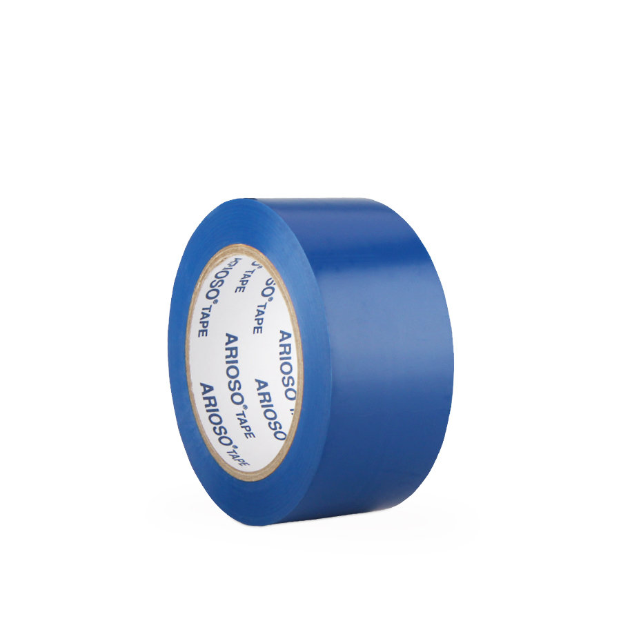 Modrá vyznačovací podlahová páska 01 - délka 33 m a šířka 5 cm