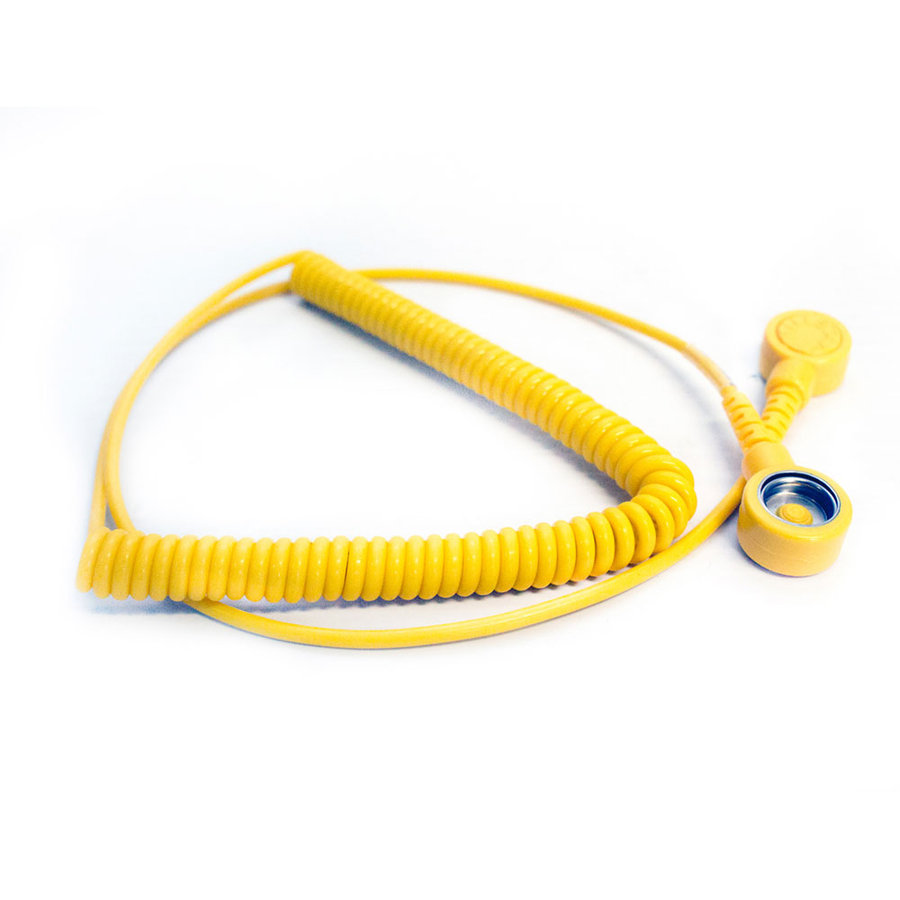 Uzemňovací natahovací kabel - 180 cm (80000490)