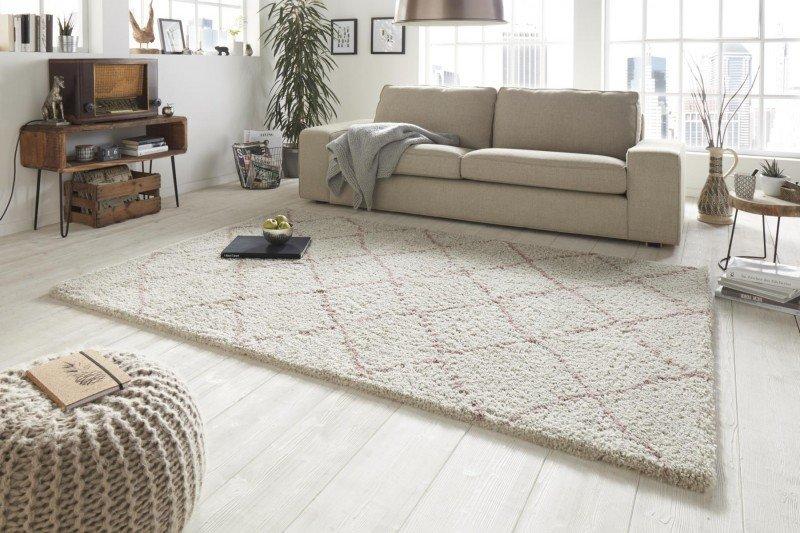 Béžový kusový moderní koberec Allure