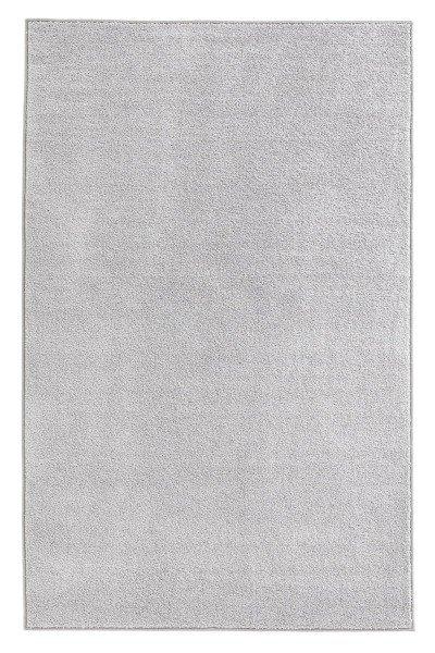 Šedý kusový koberec běhoun Pure - délka 400 cm a šířka 80 cm