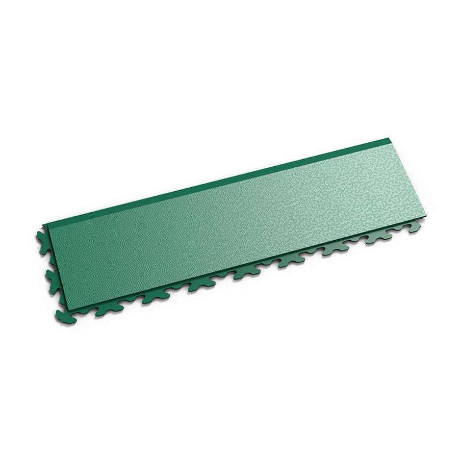 """Zelený vinylový plastový nájezd """"typ B"""" Invisible 2034 (hadí kůže), Fortelock - délka 46,8 cm, šířka 14,5 cm a výška 0,67 cm"""