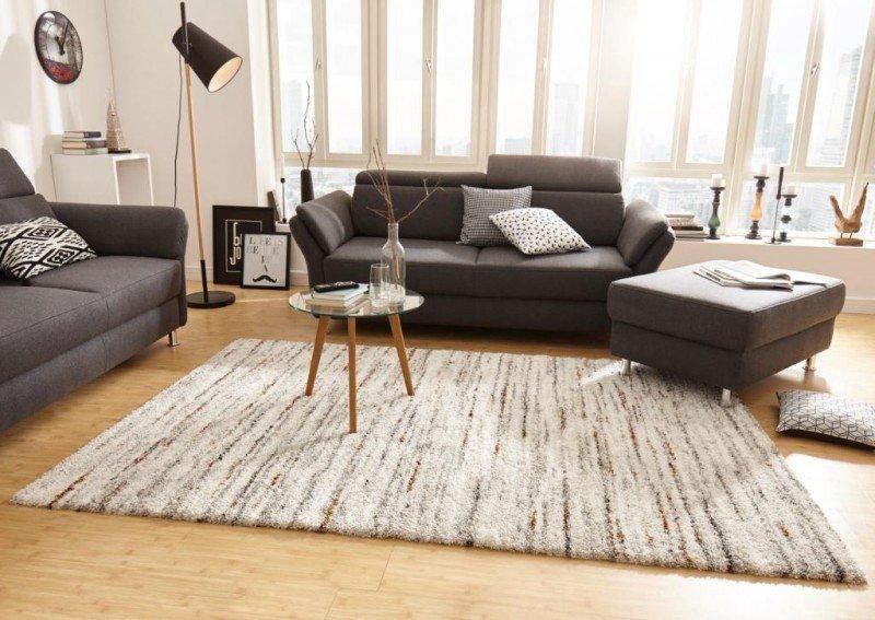 Béžový moderní kusový koberec Nomadic - délka 150 cm a šířka 80 cm