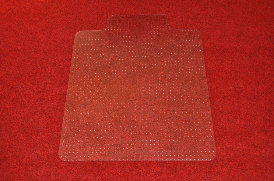 Čirá podložka na koberec pod židli - délka 150 cm, šířka 120 cm a výška 0,3 cm