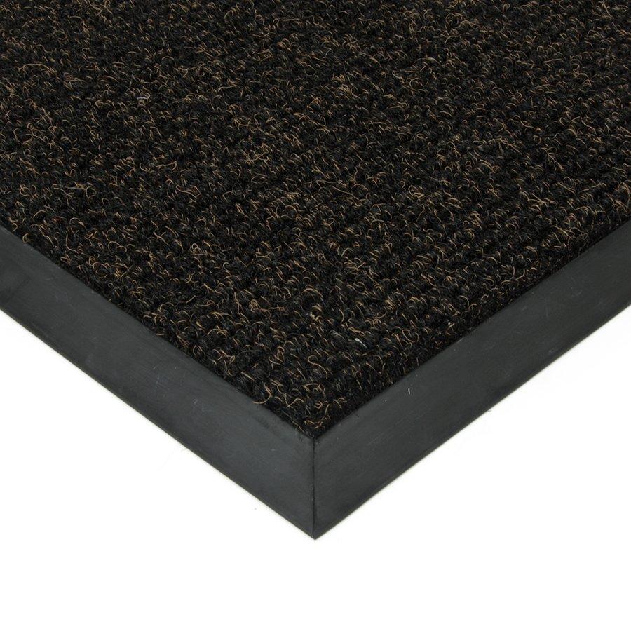 Černá textilní zátěžová čistící vnitřní vstupní rohož Catrine, FLOMAT - délka 1 cm, šířka 1 cm a výška 1,35 cm
