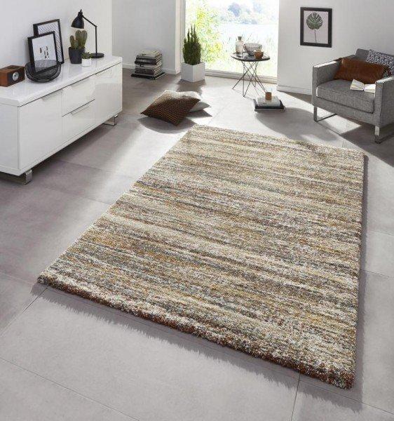 Hnědý kusový bytový obdélníkový koberec Chloe - délka 150 cm a šířka 80 cm
