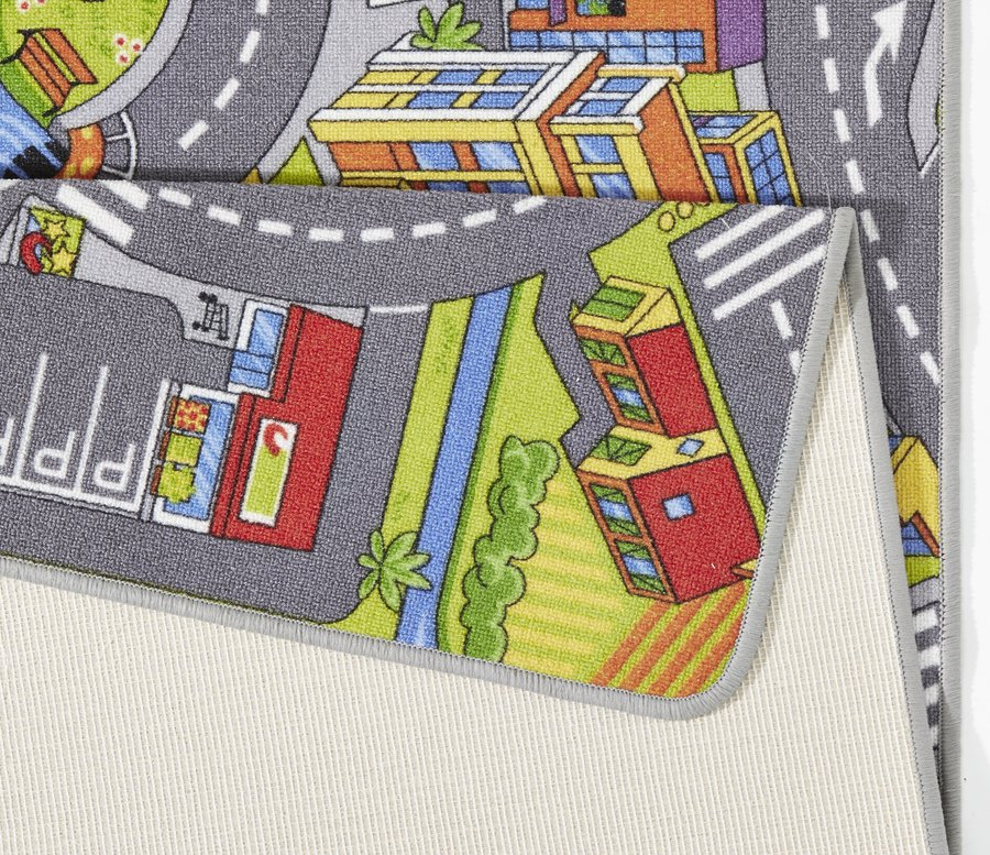 Různobarevný dětský kusový koberec Play - délka 200 cm a šířka 140 cm