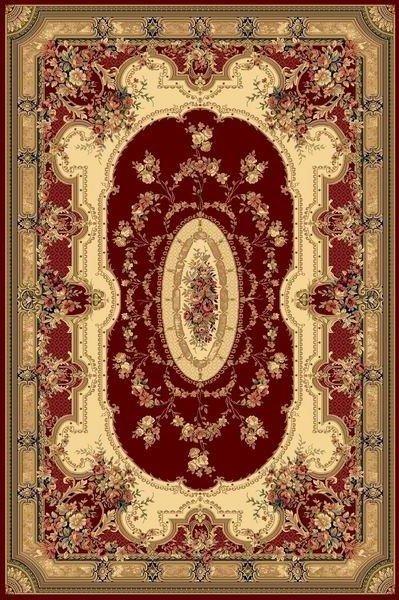Červený orientální kusový koberec Super Antique - délka 400 cm a šířka 300 cm