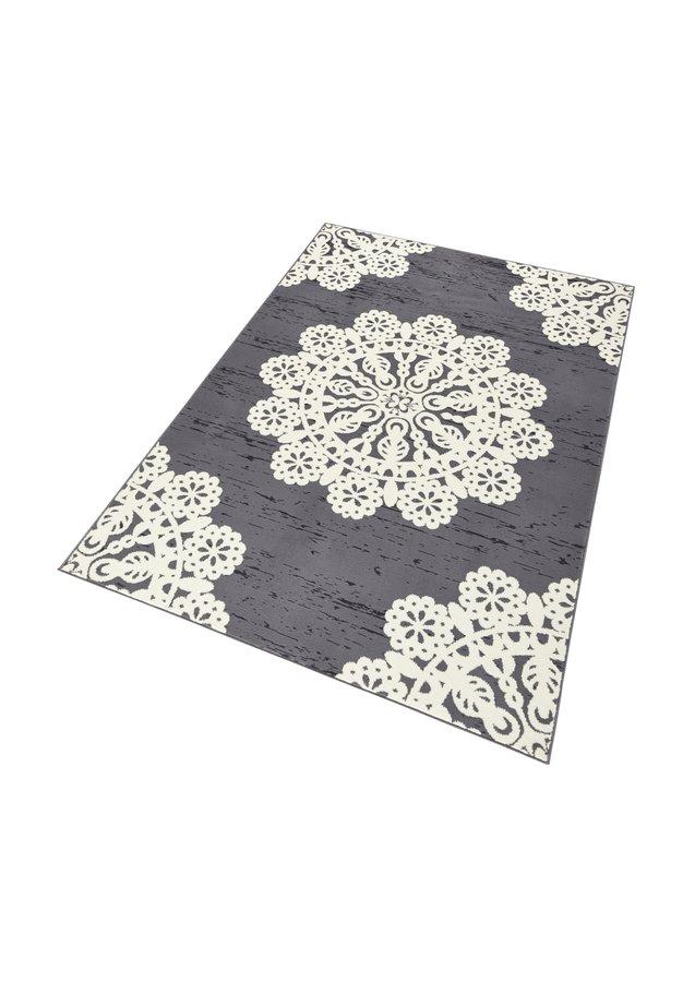 Šedý kusový moderní koberec Gloria - délka 170 cm a šířka 120 cm