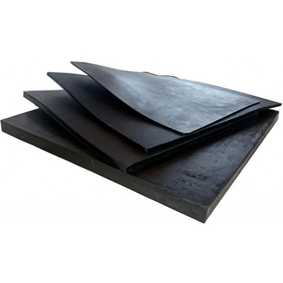 Pryžová EPDM deska FLOMA - délka 50 cm, šířka 50 cm a výška 2 cm